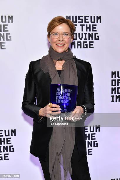 Annette Bening attends the Museum of the Moving Image Salute to Annette Bening at 583 Park Avenue on December 13 2017 in New York City