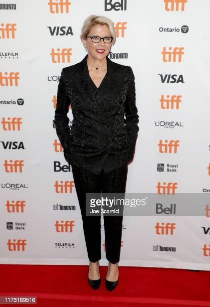 Annette Bening attends The Report premiere during the 2019 Toronto International Film Festival at Winter Garden Theatre on September 08 2019 in...