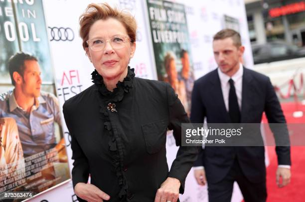 """Annette Bening attends the screening of """"Film Stars Don't Die In Liverpool"""" at AFI FEST 2017 Presented By Audi at TCL Chinese Theatre on November 12,..."""