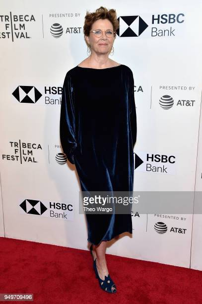 Annette Bening attends The Seagull premiere during the 2018 Tribeca Film Festival at BMCC Tribeca PAC on April 21 2018 in New York City