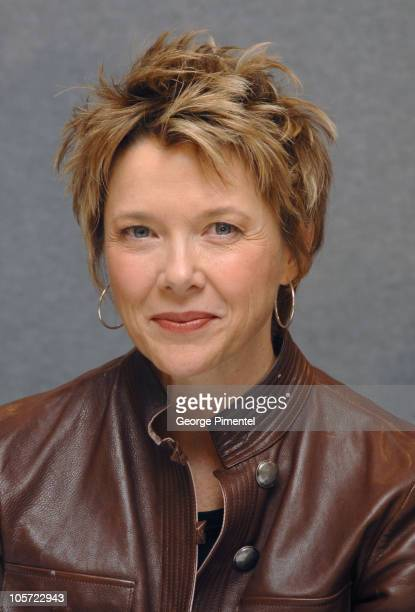 Annette Bening during 2005 Toronto Film Festival Mrs Harris Press Conference in Toronto Ontario Canada