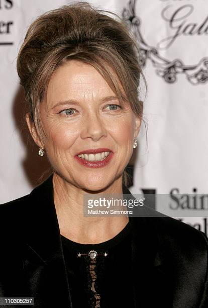 Annette Bening during 2006 St Johns Health Center Caritas Gala October 14 2006 at Regent Beverly Wilshire in Beverly Hills California United States