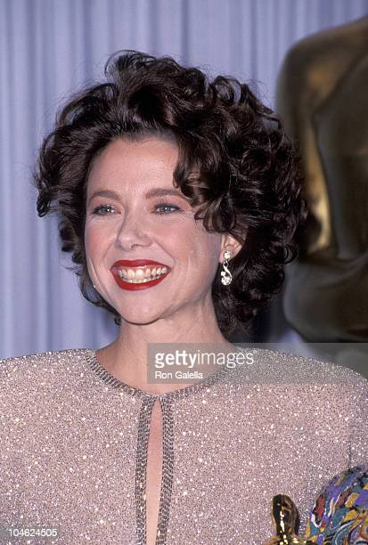Annette Bening during 63rd Annual Academy Awards at Shrine Auditorium in Los Angeles California United States