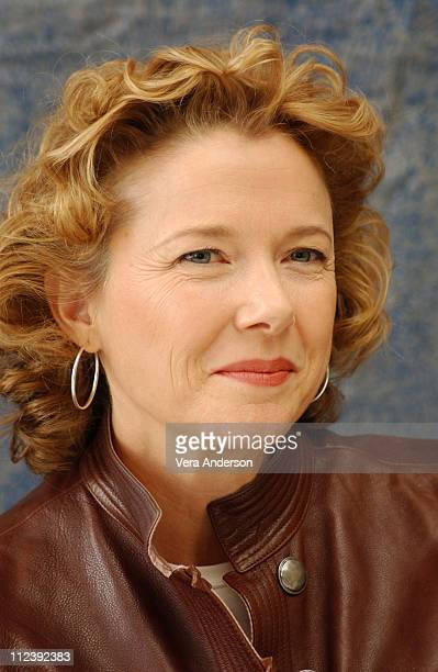 Annette Bening during Being Julia Press Conference with Annette Bening Jeremy Irons and Istvan Szabo at Four Seasons Hotel in Toronto Canada