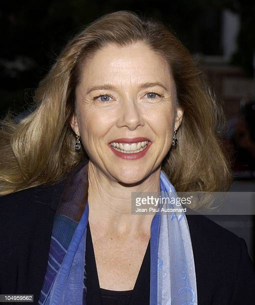 Annette Bening during Geffen Playhouse Hosts Second Annual Fundraising Gala at Geffen Playhouse in Westwood California United States
