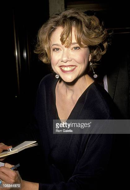 Annette Bening during LA Premiere of The Grifters at Cineplex Odeon Theater in Century City California United States
