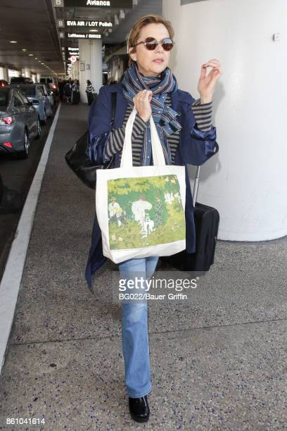 Annette Bening is seen on October 13 2017 in Los Angeles California