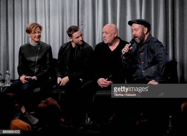 Annette Bening Jamie Bell Peter Turner and Paul McGuigan attend SAGAFTRA Foundation's conversation and screening of 'Film Stars Don't Die In...