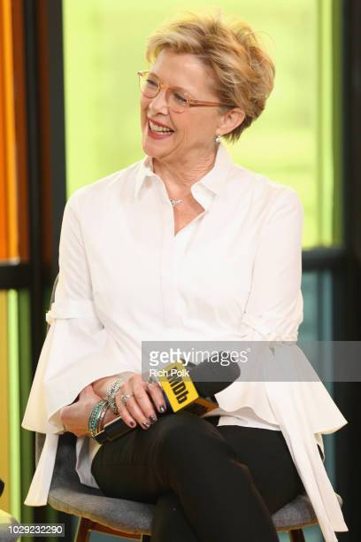 """Annette Bening of """"Life Itself"""" attends The IMDb Studio presented By Land Rover At The 2018 Toronto International Film Festival at Bisha Hotel &..."""