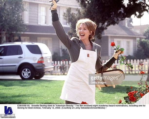 Annette Bening Stars In 'American Beauty' The Film Received Eight Academy Award Nominations Including One For Bening For Best Actress February 15 2000
