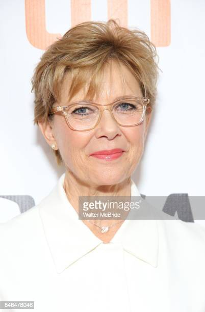 Annette Benning attends the 'Film Stars Don't Die in Liverpool' premiere during the 2017 Toronto International Film Festival at Roy Thomson Hall on...
