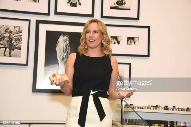Annette Bourland attends Natasha Bure 'Let's Be Real' Los Angeles book launch party at Eden By Eden Sassoon on March 24 2017 in Los Angeles California