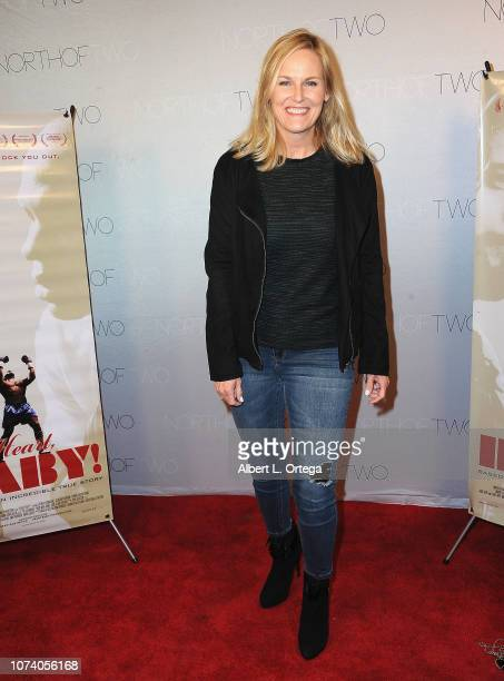 Annette Caton arrives for the premiere of 'Heart Baby' held at The Ahrya Fine Arts Laemmle Theater on November 23 2018 in Beverly Hills California