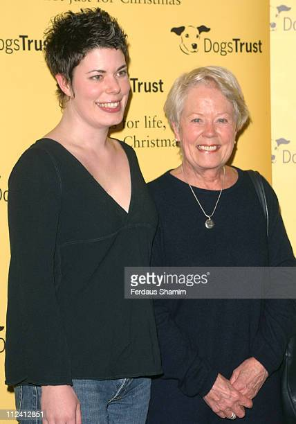 Annette Crosbie and her daughter Selena Griffith during Drinks Party to Celebrate Launch of Dogs Trust at The Royal Academys New art Space London in...