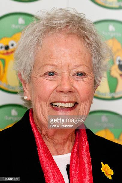 Annette Crosbie attends the Burgess Wetnose Animal Rescue Awards 2012 at Jumeirah Carlton Tower on March 9 2012 in London United Kingdom