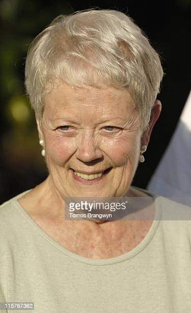 Annette Crosbie during Macmillan Cancer Supports the 5th Macmillian Dog Day at Royal Hospital Chelsea in London Great Britain