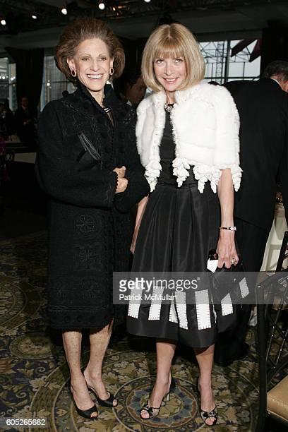 Annette de la Renta and Anna Wintour attend Parsons The New School For Design 58th Annual Benefit and Fashion Show Honoring Oscar de la Renta at Pier...