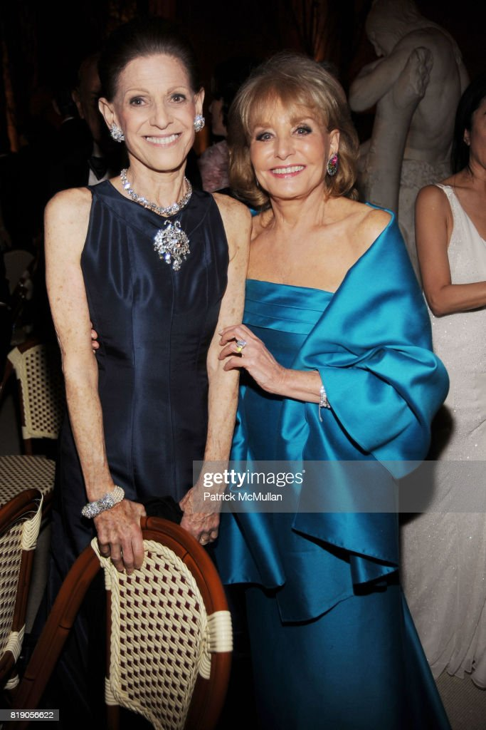 Annette de la Renta and Barbara Walters attend(s) THE METROPOLITAN MUSEUM OF ART'S Spring 2010 COSTUME INSTITUTE Benefit Gala at THE METROPOLITAN MUSEUM OF ART on May 3rd, 2010 in New York City.