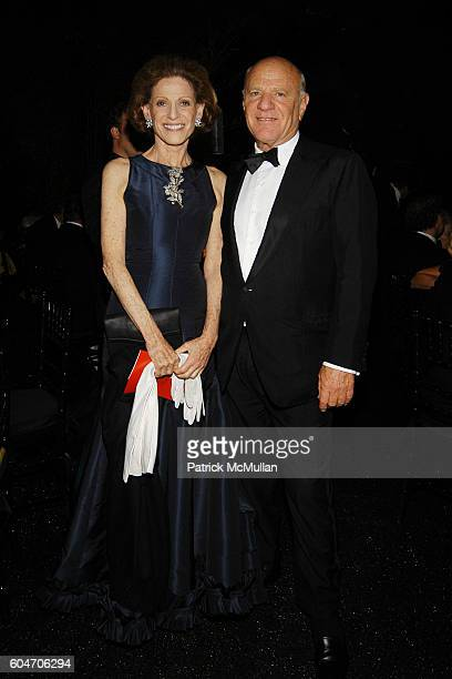 Annette de la Renta and Barry Diller attend Metropolitan Opera Opening Night Dinner at Lincoln Center on September 25 2006 in New York City