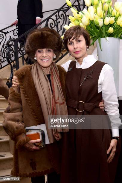 Annette de la Renta and Renée Price attend Alexei Jawlensky Opening Reception at the Neue Galerie at 1048 5th Ave on February 15 2017 in New York City