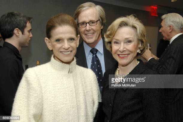 Annette de la Renta Joe Armstrong and Joan Ganz Cooney attend The Paley Center for Media Unveils the KISSINGER GLOBAL CONFERENCE ROOM at Paley Center...