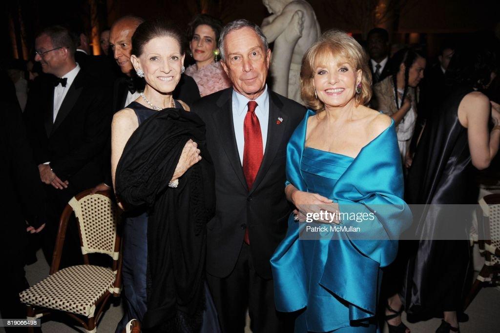 Annette de la Renta, Mayor Michael Bloomberg and Barbara Walters attend(s) THE METROPOLITAN MUSEUM OF ART'S Spring 2010 COSTUME INSTITUTE Benefit Gala at THE METROPOLITAN MUSEUM OF ART on May 3rd, 2010 in New York City.