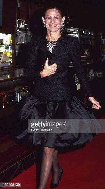Annette de la Renta party for Oscar de la Renta Saks Fifth Avenue New York New York 1982