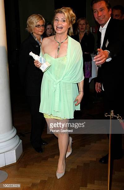 Annette Frier attends the 'Bayerischer Fernsehpreis 2010' at the Prinzregententheater on May 21 2010 in Munich Germany