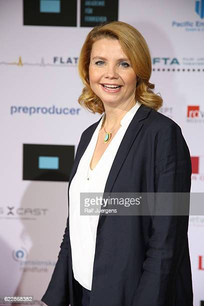 Annette Frier attends the German television award by the Deutsche Akademie fuer Fernsehen at Museum Ludwig on November 12, 2016 in Cologne, Germany.