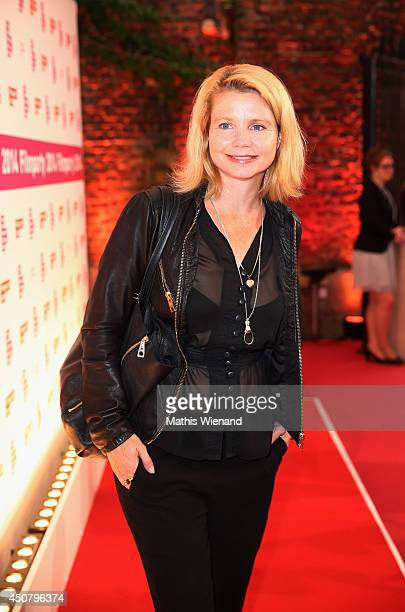 Annette Frier attends the NRW Filmparty at Wolkenburg on June 17 2014 in Cologne Germany