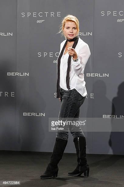 Annette Frier attends the 'Spectre' German Premiere on October 28 2015 in Berlin Germany