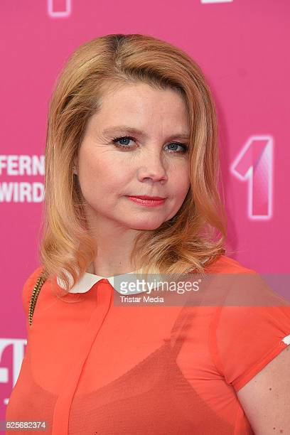 Annette Frier attends the Telekom Entertain TV Night at Hotel Zoo on April 28 2016 in Berlin Germany