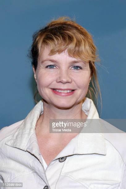 Annette Frier attends the WDR TV movie 'Klassentreffen' premiere at Abaton cinema on February 19, 2019 in Hamburg, Germany.