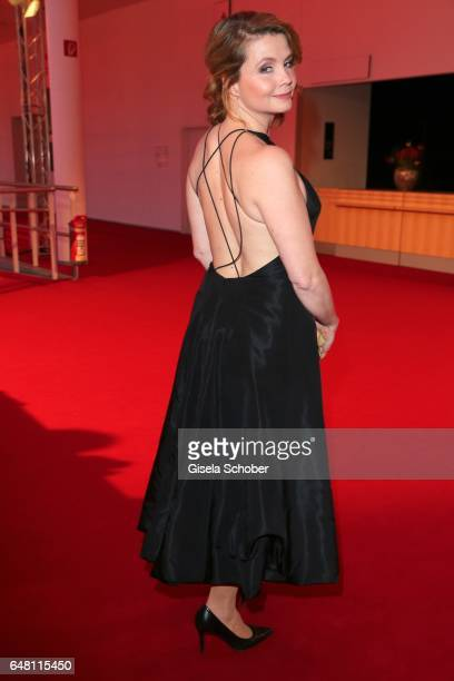 Annette Frier during the Goldene Kamera reception at Messe Hamburg on March 4 2017 in Hamburg Germany