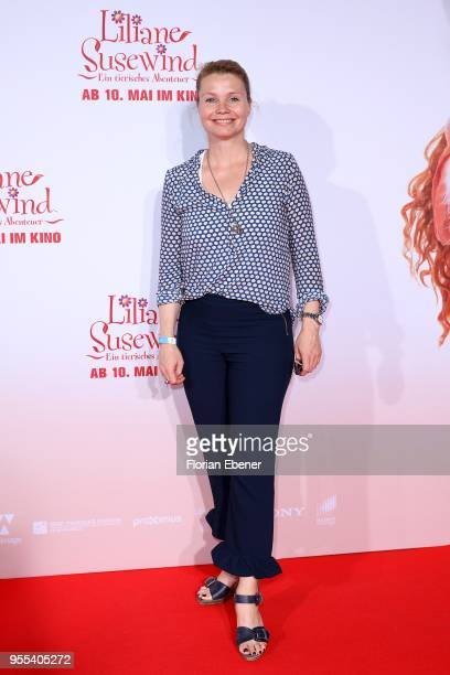 Annette Frier during the premiere of 'Liliane Susewind Ein tierisches Abenteuer' at Cinedom on May 6 2018 in Cologne Germany