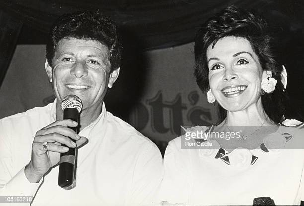 Annette Funicello Frankie Avalon during Frankie Avalon Annette Funicello Concert Tour at Calico Square Knott's Berry Farm in Buena Park California...