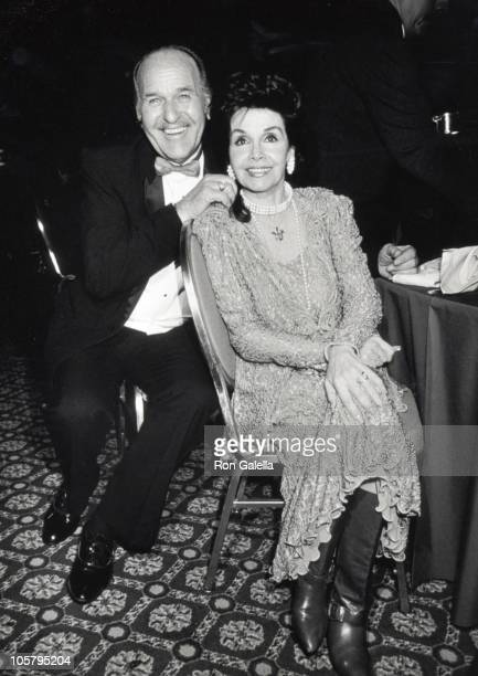 Annette Funicello husband Gary during 11th Annual St Clare's Hospital Helen Hayes Awards Gala at Marriott Marquis Hotel in New York City New York...