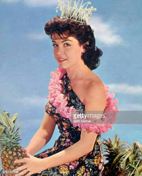Annette Funicello portrait from the period of her 'Hawaiianette' album circa 1960