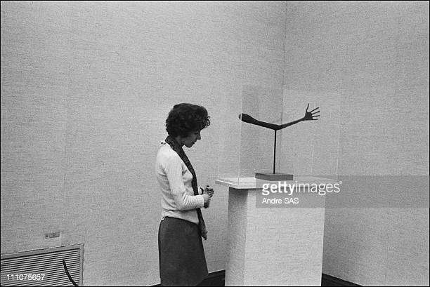 Annette Giacometti in France on October 23rd 1969