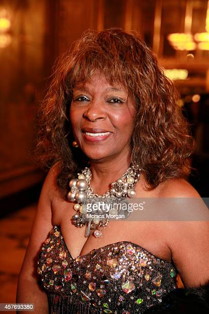 Annette Helton attends the opening night of Motown The Musical at The Fisher Theatre on October 22 2014 in Detroit Michigan