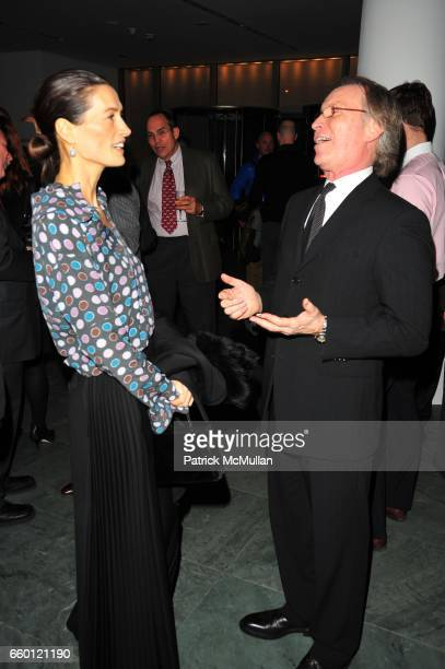 Annette Lauer and George Fertitta attend STARRY NIGHT hosted by Netherlands Government NYC Company and the City of Amsterdam at MoMA NYC on January...