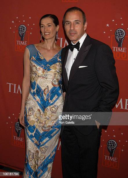 Annette Lauer and Matt Lauer during Time Magazine's 100 Most Influential People 2007 Arrivals at Jazz at Lincoln Center in New York City New York...
