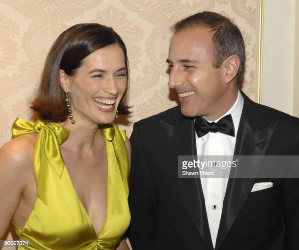 Annette Lauer and Matt Lauer
