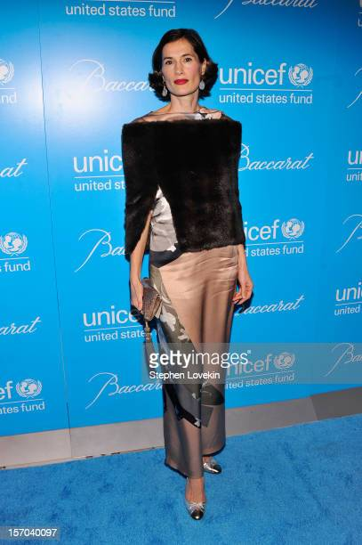 Annette Lauer attends the Unicef SnowFlake Ball at Cipriani 42nd Street on November 27 2012 in New York City