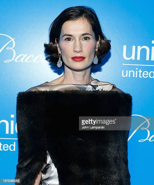 Annette Lauer attends UNICEF Snowflake Ball 2012 at Cipriani 42nd Street on November 27 2012 in New York City