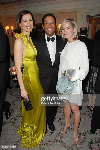 Annette Lauer Bryant Gumbel and Hilary Gumbel attend MUSEUM OF THE MOVING IMAGE honors MATT LAUER and DEBRA L LEE at St Regis Hotel NYC on April 26...