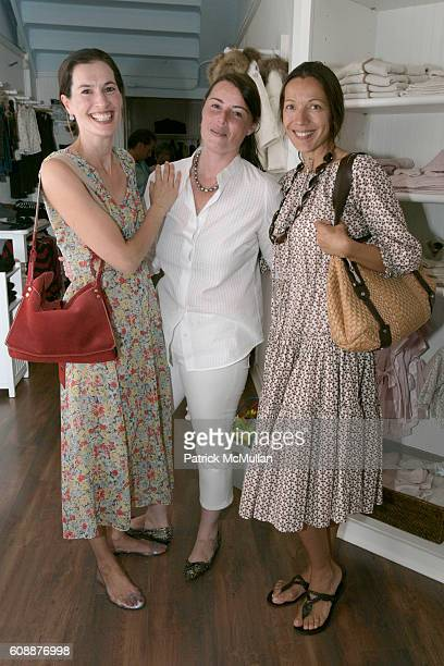 Annette Lauer Christina Peffer and Tatiana Ernst Callimanopulos attend HATCHLINGS Spring 2008 HATCH Boys Collection hosted by ANNETTE LAUER CRISTINA...