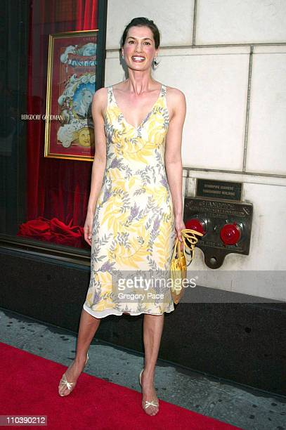 Annette Lauer during Lotsa de Casha by Madonna Book Launch Party at Bergdorf Goodman in New York June 7 2005 at Bergdorf Goodman in New York City New...