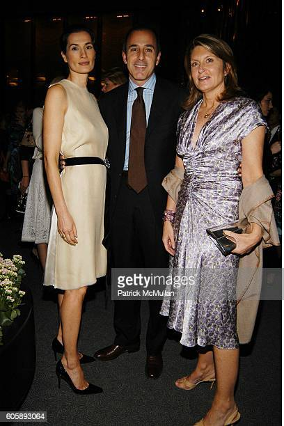 Annette Lauer Matt Lauer and Sandy Golinkin attend The IRVINGTON INSTITUTE Through The Kitchen Dinner Benefit for Immunoligical Research at The Four...