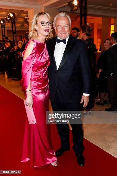 Annette MarberthKubicki and Wolfgang Kubicki during the 67th Bundespresseball at Hotel Adlon on November 23 2018 in Berlin Germany